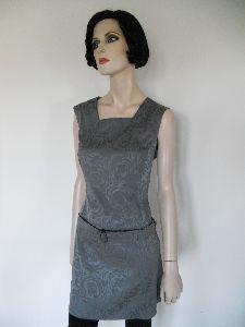 Kleid aus Jacquardviskose
