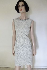 Kleid aus Jaquardstrick