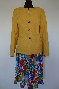 Jacke in gelb